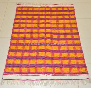 Rectangle Home Decor Indian Handmade Carpet Rug Exporter