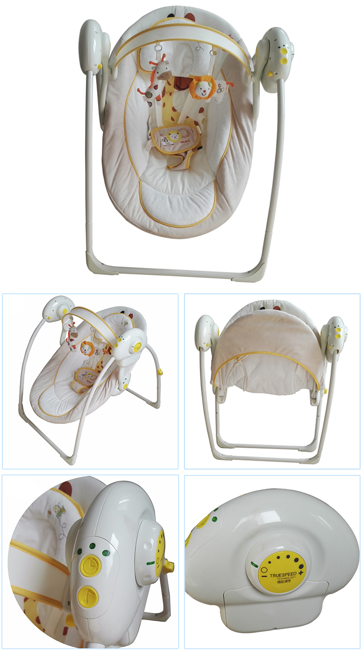 Home Furniture Baby Automatic Swing Cradle For Baby