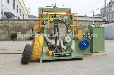 Multifunction steel & hose coil wrapping machine,hose coil wrapping machine