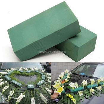 wet floral foam for flower arrangement accessories in wedding