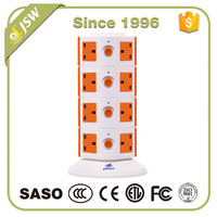13amp 220v extension cord BS switched ac electrical adapter plug socket outlet surge protector
