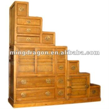 Stair Treasure House/stair Cabinet