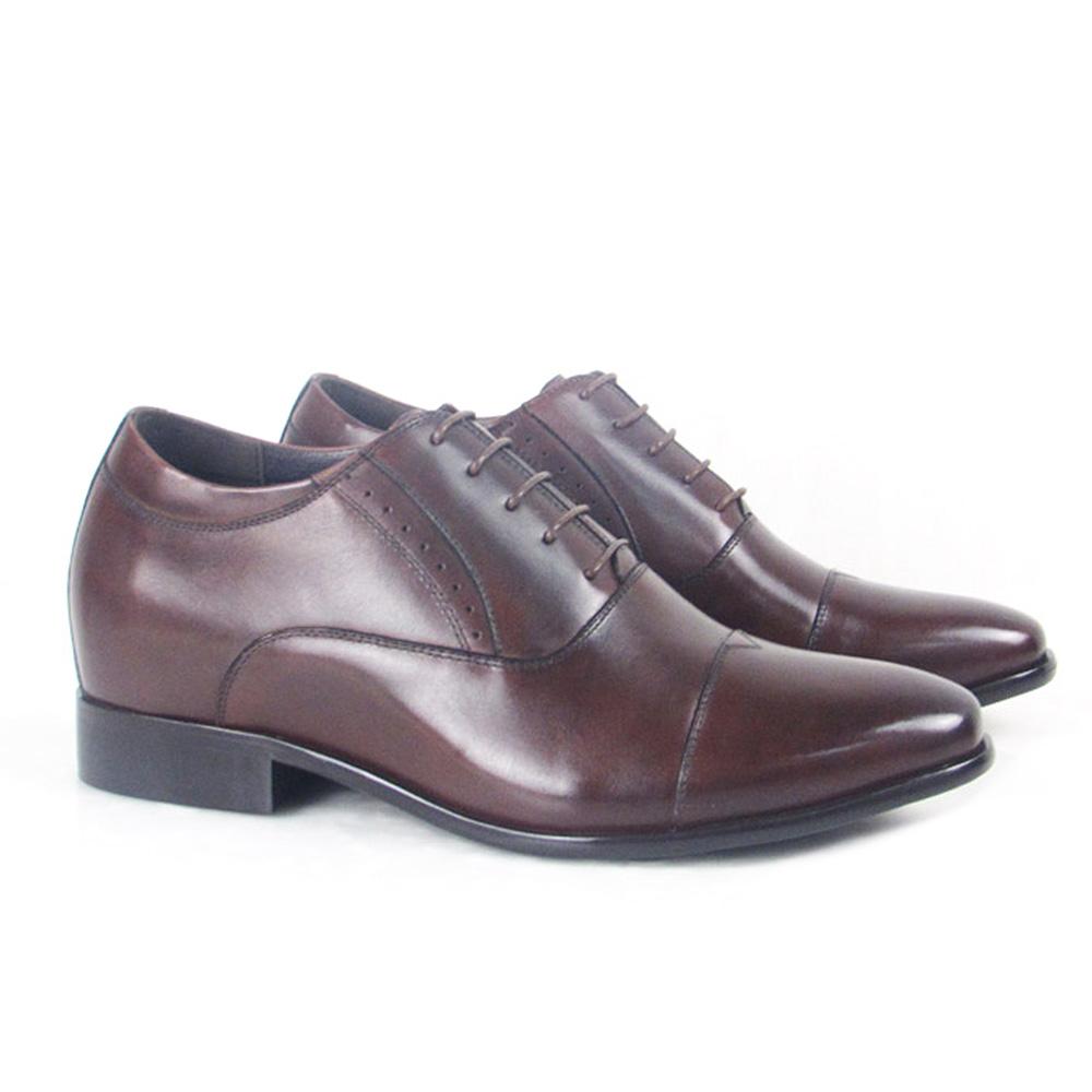 elevator dress genuine walking tall handmade men leather shoes Italian UPq4w4