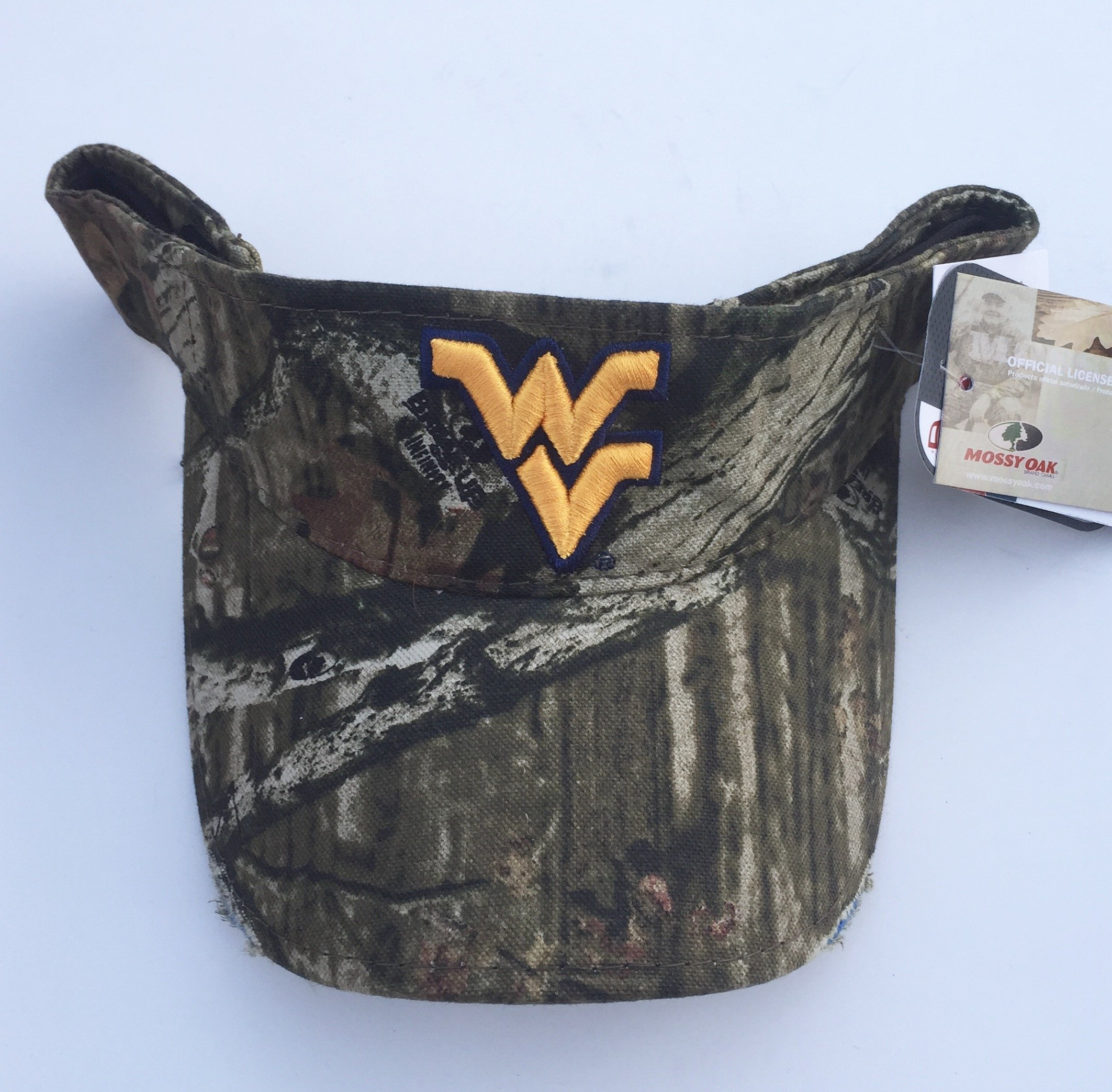 Buy West Virginia Mountaineers Camouflage Camo Visor Cap in Cheap ... 716776a5081