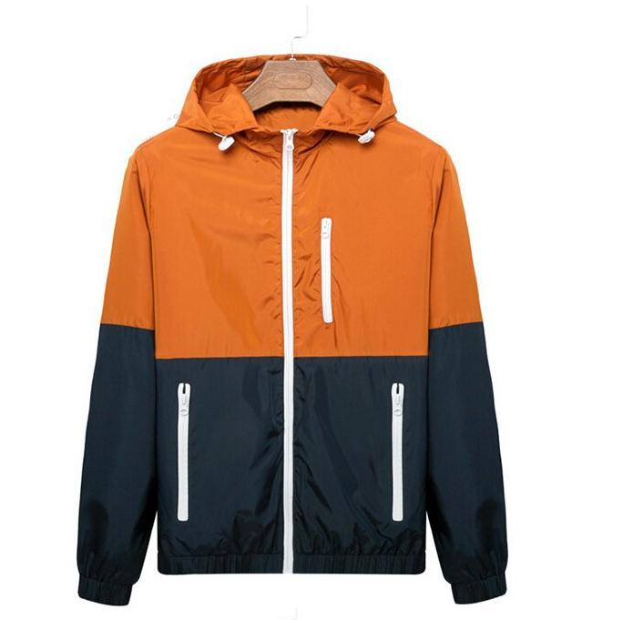 Hot Sale Casual Jacket Thin Men 2016 Summer Thin Windbreaker Jaqueta De Masculina Sportswear Slim Coats 3XL