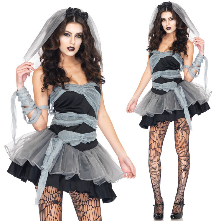 Buy New Womenu0026#39;s Sexy Christmasdark ghost bride modelling The v&ire take a zombie Costumes Halloween Carnival Costume Free shipping in Cheap Price on ...  sc 1 st  Alibaba & Buy New Womenu0026#39;s Sexy Christmasdark ghost bride modelling The ...