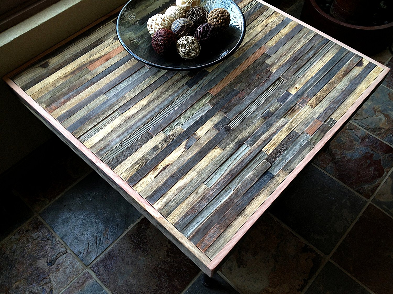 """36"""" Barn wood Coffee Table with Hairpin legs - Industrial - Mid-Century - Modern - Contemporary - Rustic Zen"""