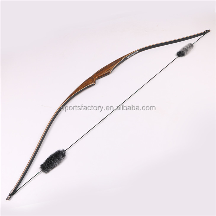 New design Traditional bow wooden laminated long bow archery hunting bow