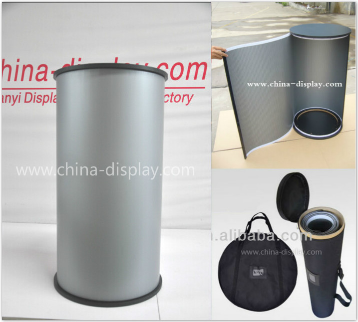 Portable Exhibition Counter : Popup table promo table promotion counter portable table