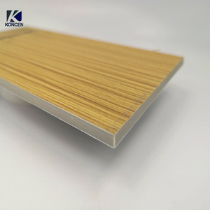 PE A2 mineral core fireproof aluminium composite panel price for building wall