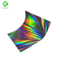 Hot sell holographic metallized and transparent lamination