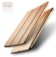 Smart Magnetic Cover for 2017 ipad air2, Ultra Slim Folding Stand Leather tablet pc Case for ipad air2