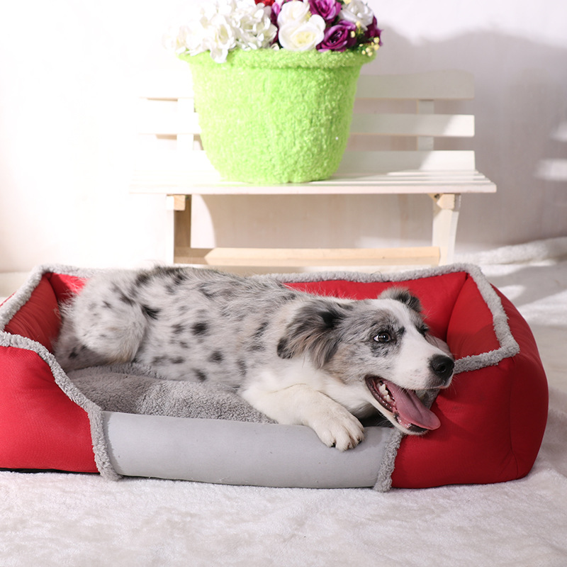 Beroyal China suppliers hot sales warm square ventilation dog cat bed mat for pets