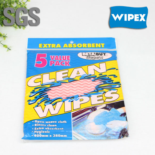 High Quality spunlace nonwoven household kitchen cleaning wipers