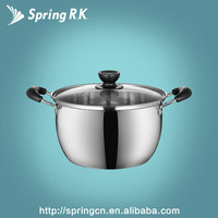 Hot sale Stainless steel soup & stock pot in Korean style