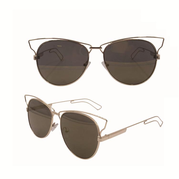 5fc7af77c0 2018 Hot Sale Fashion Brand Designer Coating Mirror Sunglasses ...