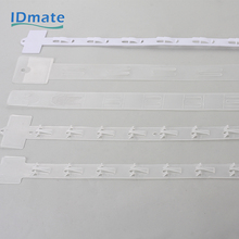 Plastic hanging display supermarket retail clip strip