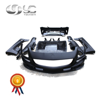 Trade Assurance FRP Fiber Glass in Portion Carbon Fiber Body Kit Fit For R197 SLS-Class BS Style Body Kit