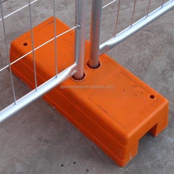 Temporary Fence Post Base - Buy Temporary Fence Post Base,Portable Fence  Base,Steel Post Base Product on Alibaba com