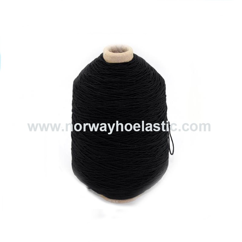 NWH38 Covered Natural Latex Rubber Thread for Knitting