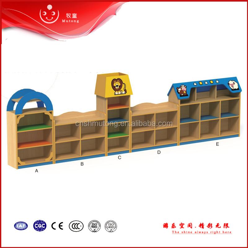 Kindergarten Juguetes De Madera Para Niños De Pared Mueble - Buy ...