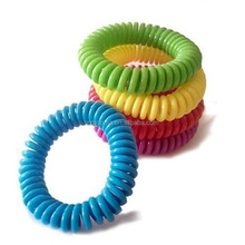 Popular products colourful Waterproof Citronella Mosquito Repellent Bracelet safe Anti Mosquito Band