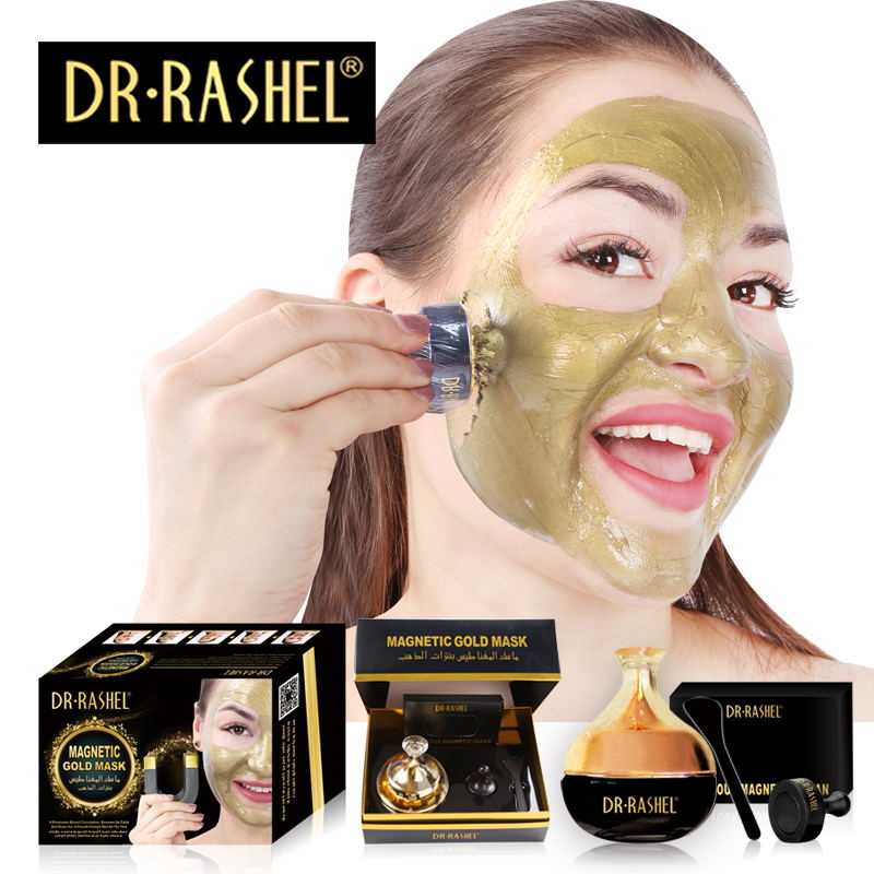 DR.RASHEL Best Selling Gold Collagen Magnetic Mask deep cleaning Anti-Wrinkle Whitening mud Face mask