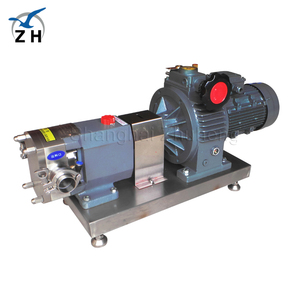 lobe vacuum pumps for milking machine central lubrication system