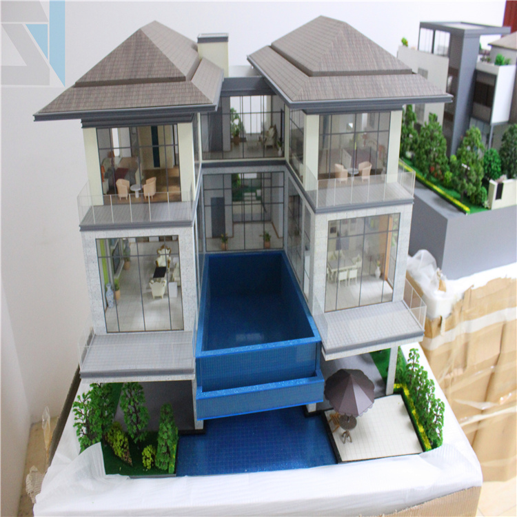 House Design Plan Maquetteswooden Handmade Model Buy Wooden Modelmaquette Modelminiature House Model Product On Alibabacom