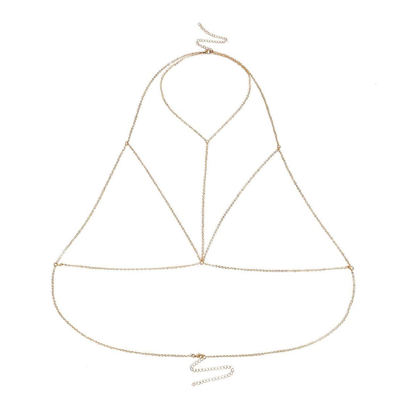 ZPSPZ-Body Chain Trigonometric Chain Chest Chain