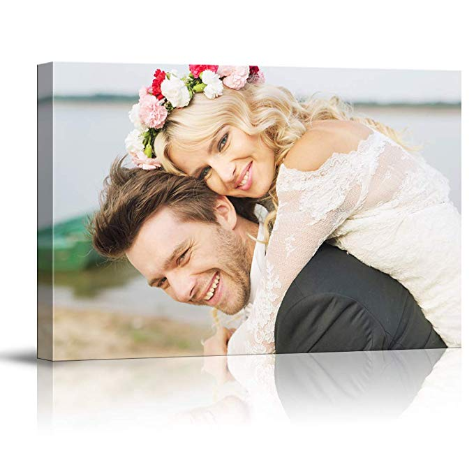 Customized canvas print personalized poster with your photo printing modern wall art decor oil portrait canvas painting