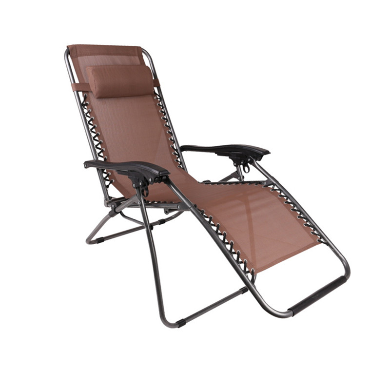 Outdoor Folding Recliner Chairs Deck Chair Portable Travel ...