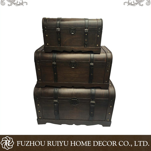 Antique Shabby OEM Furniture Industrial Vintage Storage,vintage Storage  Trunks,furniture Chest Trunks