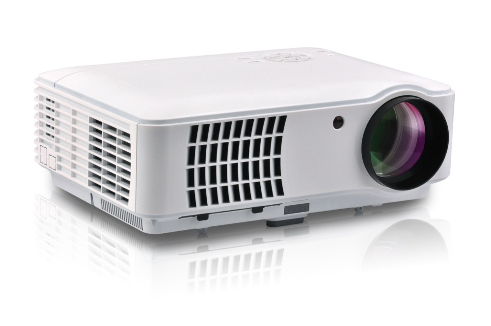 2017 home cinema projector 1280 800p projector with for Best mobile projector