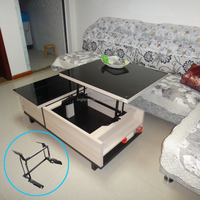 space saving furniture mechanism/table with a mechanism