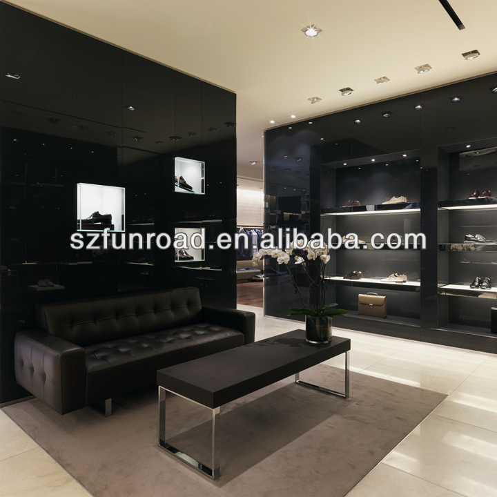 Retail Clothing And Bag Store Furniture Design In Luxury