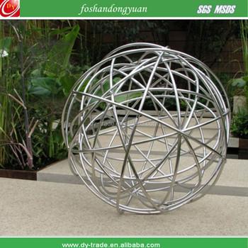 Hollow Garden Decorative Metal Wire Ball