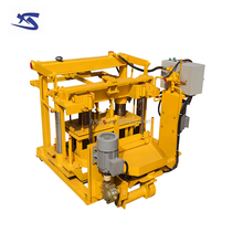 QT40-3A concrete mixer machine make blocks