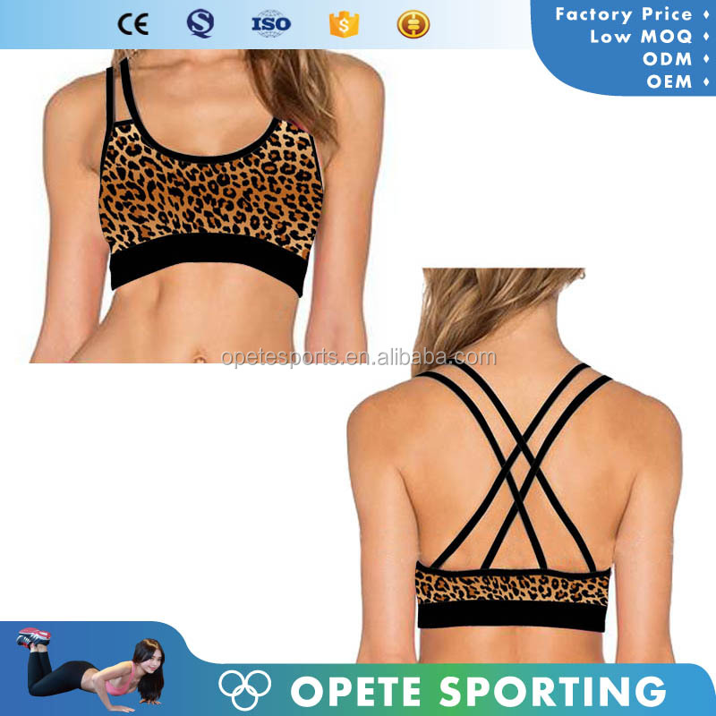 New Oem China Sport Bra, High Impact Sport Bra China