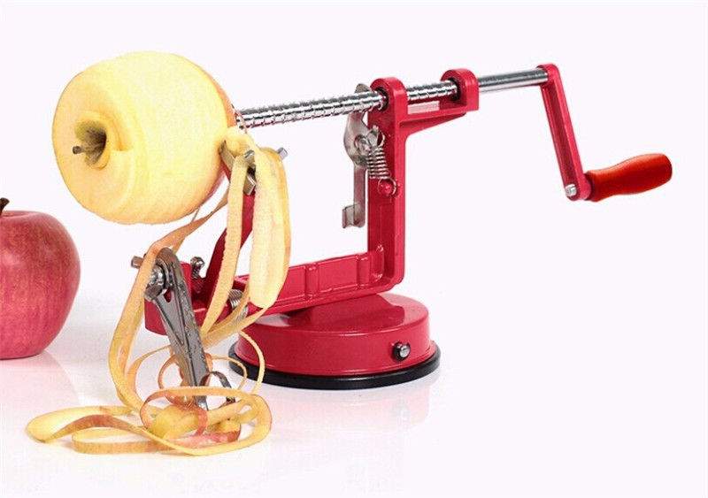 apple peeler fruits plucheur machine trancher acier. Black Bedroom Furniture Sets. Home Design Ideas
