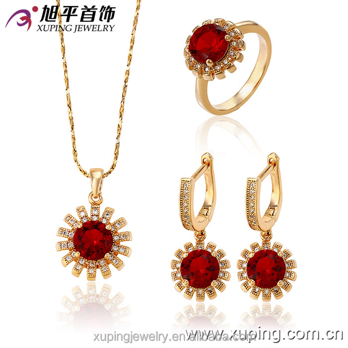 fashion jewelry xuping 18k gold Jewelry Set China Wholesale