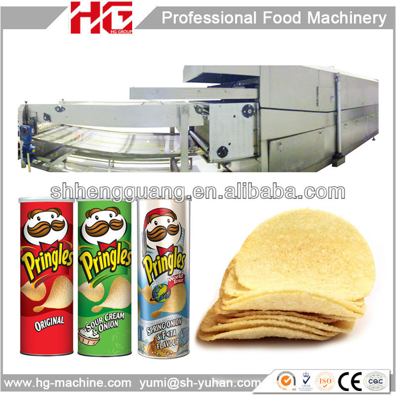product detail Pringles Compound potato chip industrial making