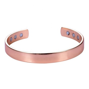 MECYLIFE Adjustable Fashion Bracelets Magnetic Bangle Bracelet Energy Health Copper Split Diabetes Bracelet