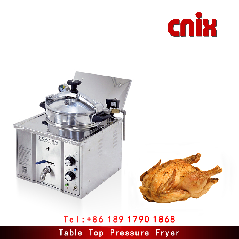 commercial kitchen equipment china electric deep fryer ce approved counter top pressure fryer