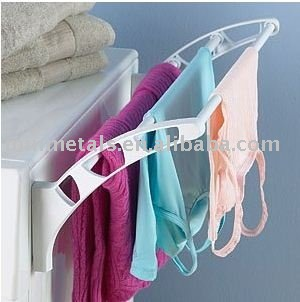 magnetic laundry drying rack