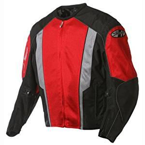 Joe Rocket Phoenix 5.0 Mesh Textile Motorcycle Jacket Red/Black XLG