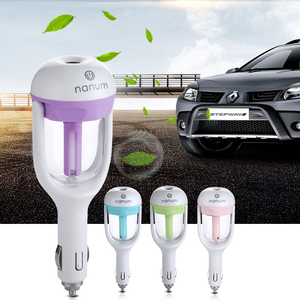 Free sample! factory wholesale mini aroma car humidifiers