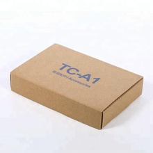 Tuck top corrugated mailing packing boxes cardboard carton