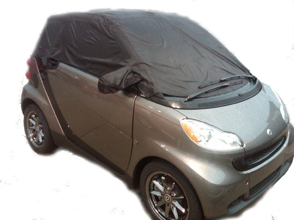Smart Car Custom Made Waterproof All Weather Vehicle Cover Not Toy Accessories Convertible Top Fortwo Free Gift 450 451 Automobiles For