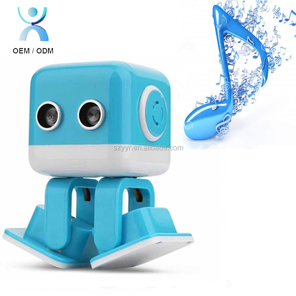 2018 New toys for kids cubee electronic rc smart robot dance musical robot with light